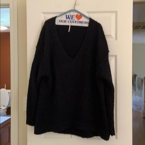 Free People Oversized sweater! Size med!